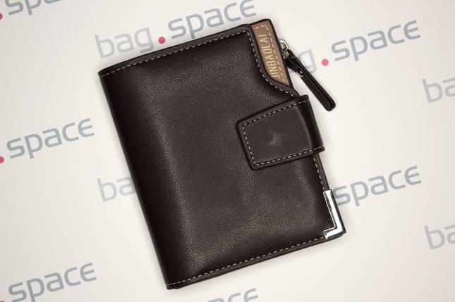 Кошелёк мужской JBL Compact, тёмно-коричневый, фото 2