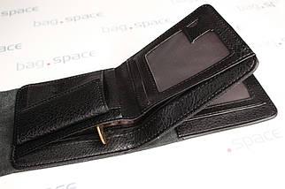 Кошелёк мужской Wobu Jeans, чёрный, фото 3