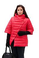 Куртка женская стильная большого размера весенняя р. 54-72