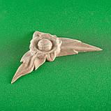 Код ДУ14. Дерев'яний різьблений декор для меблів. Декор кутовий, фото 5