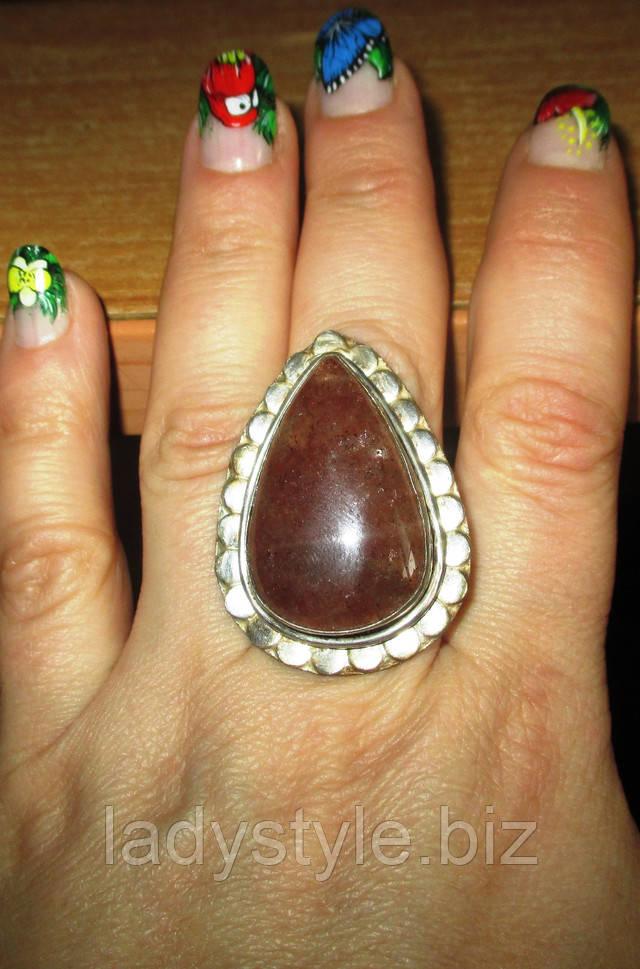 купить украшения с натуральным кальцитом серебро серьги кольцо перстень кольцо