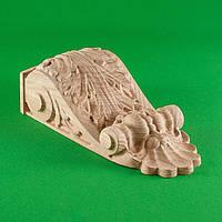 Код КР14. Резной деревянный декор для мебели. Кронштейны, фото 1
