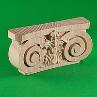Деревянный резной декор для мебели. Пилястры
