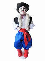 Кукла сувенирная-оберег Украинец (синие штаны) (Куклы)