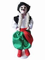 Кукла сувенирная-оберег Украинец (зеленые штаны) (Куклы)