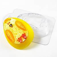 Форма для мыла пластиковая Яйцо - цыпленок