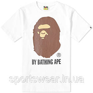 Футболка AAPE By A Bathing Ape logo  мужская