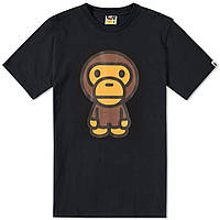Футболка с принтом A BATHING APE Monkey мужская