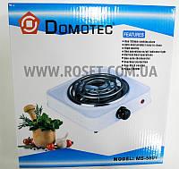 Электрическая кухонная плитка (спиральная) - Domotec MS-5801 1000W