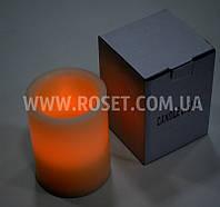 Светодиодная свеча с парафином - Candle Light (высота 15 см)