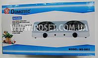 Электрическая плитка спиральная - Domotec MS-5802 1000W (2 канфорки)