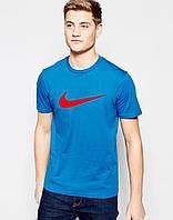 Футболка Nike  размер L  синяя