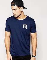 Мужская футболка Reebok т.синяя