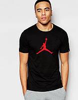 """Мужская  черная футболка  Jordan  Джордан """""""" В стиле Jordan """""""""""