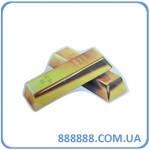 Наклейка Золотые слитки 15 х 11см