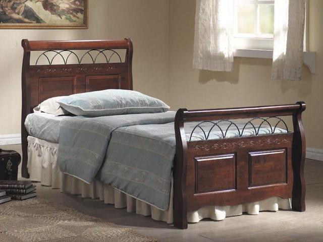 Ліжко дерев'яне Verona Singal