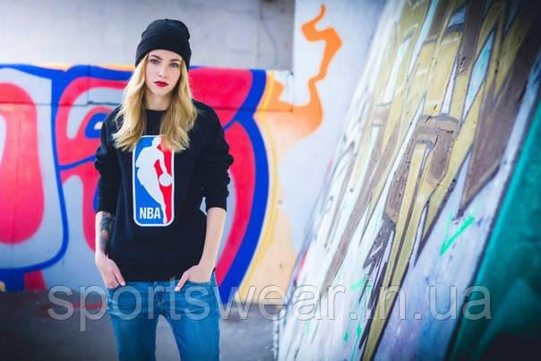 """Жіночий Світшот NBA National Basketball Association Кофта ( Чорний ) """""""" ТОП Репліка """""""""""