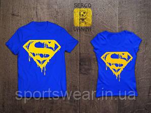 """Женская Футболка SUPERMAN Супермен """""""" В стиле Marvel """""""""""