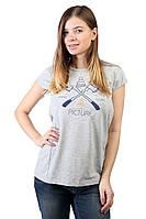 Футболка женская с принтом PICTURE ORGANIC CUTTER