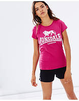 Женская Футболка Lonsdale Cherry
