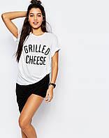 Футболочка женская с принтом Private Party Grilled Cheese