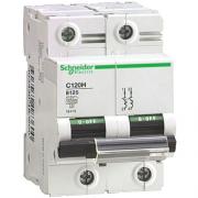 Автоматический выключатель 10А 15kA 2 полюса тип C 18449S C120H Schneider Electric