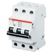 Автоматический выключатель 10A 6кА 3 полюса тип C SH203-C10 ABB