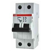Автоматический выключатель 10A 6кА 2 полюса тип B SH202-B10 ABB