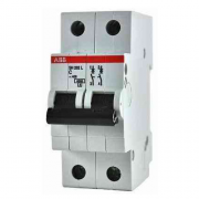 Автоматический выключатель 40A 6кА 2 полюса тип B SH202-B40 ABB