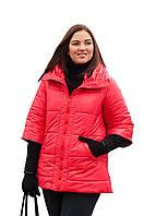 Куртка большого размера весенняя женская р. 54-72