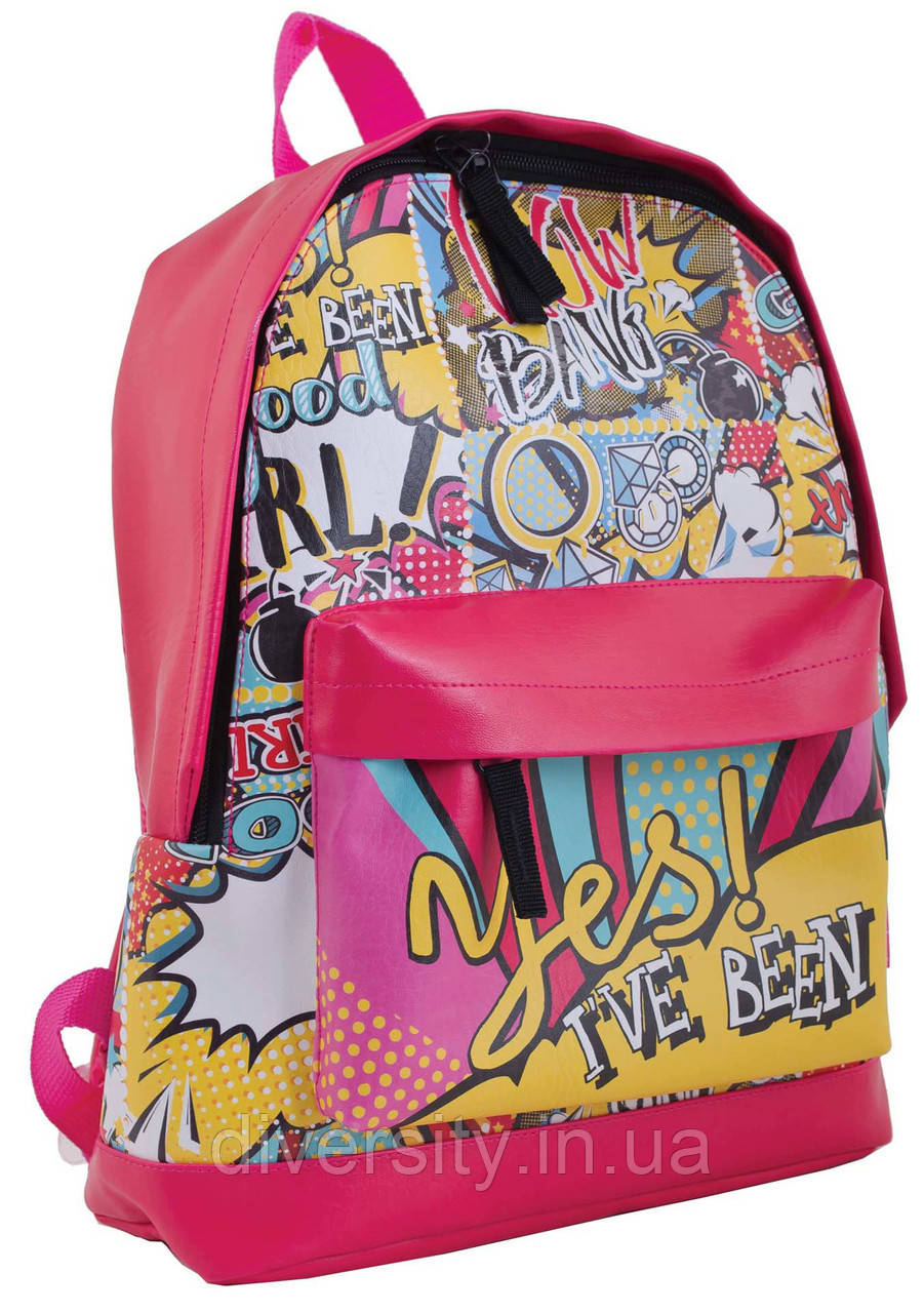 "Красочный  рюкзак ""Wow"" от компании  Yes"