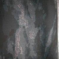 Ткань Атакс черный грязь рипстоп с МГ пропиткой хлопок 82% военка