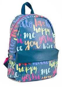 "Красочный  рюкзак ""Happy love"" от компании  Yes"