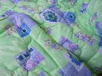 Одеяло полуторное 140х200 см поликоттон силикон TM KRISPOL