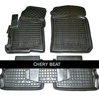 Коврики в салон Chery Beat (Indis) 11-  (5шт) Чери Бит Avto-Gumm (11384 )