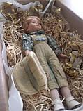 """Вінтажна лялька-хлопчик """"Ернст"""" (40 див.), фото 7"""