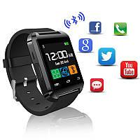 Cмарт часы U8 Smart watch + оригинальная упаковка умные часы UWatch black
