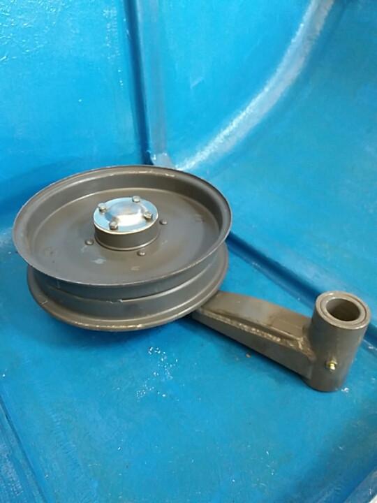 Шкив 54-0-124-1Б натяжной с рычагом СК-5М НИВА