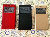 Кожаный чехол книжка Momax для Huawei Y6 II ( Y6 2) (3 цвета)