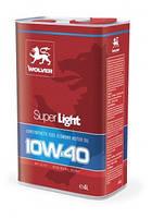 Полусинтетическое Моторное Масло (полусинтетика) WOLVER (Вольвер) 10w40 4 л