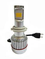 Светодиодные лампы UKC Car Led Headlight H7 33W 3000LM 4500-5000K, фото 1
