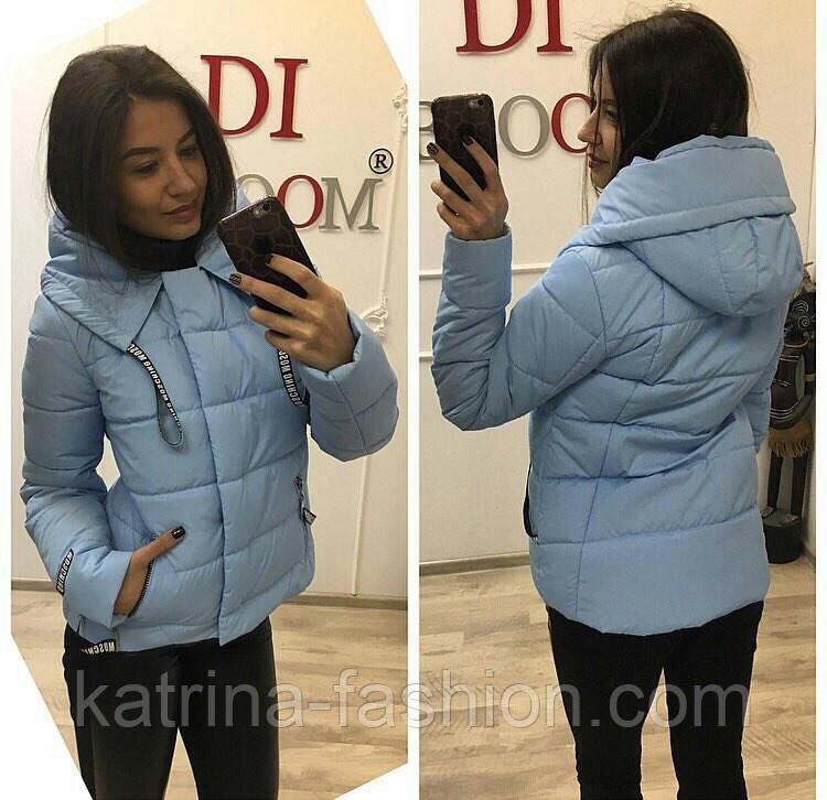 Женская модная демисезонная куртка (6 цветов)  продажа, цена в ... 9e00ab3ff34