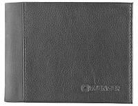 Мужское кожаное  черное портмоне WENGER 32-06BK