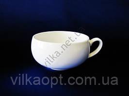 Чашка для бульона керамическая белая д. 14,5 см. выс.-7 см.