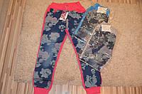 Комбинированые брюки для девочек оптом Active Sport 134-164 см