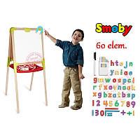 Двухсторонний деревянный мольберт Smoby 28015