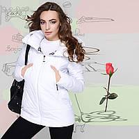 Демисезонная Куртка со съёмным капюшоном GT  778722 Белый