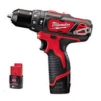 Шуруповерты/гайковерты MILWAUKEE M12 BPD-202C (4933441940)