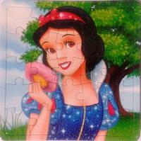 """Пазл рамка """"Принцеси""""(Білосніжка)"""