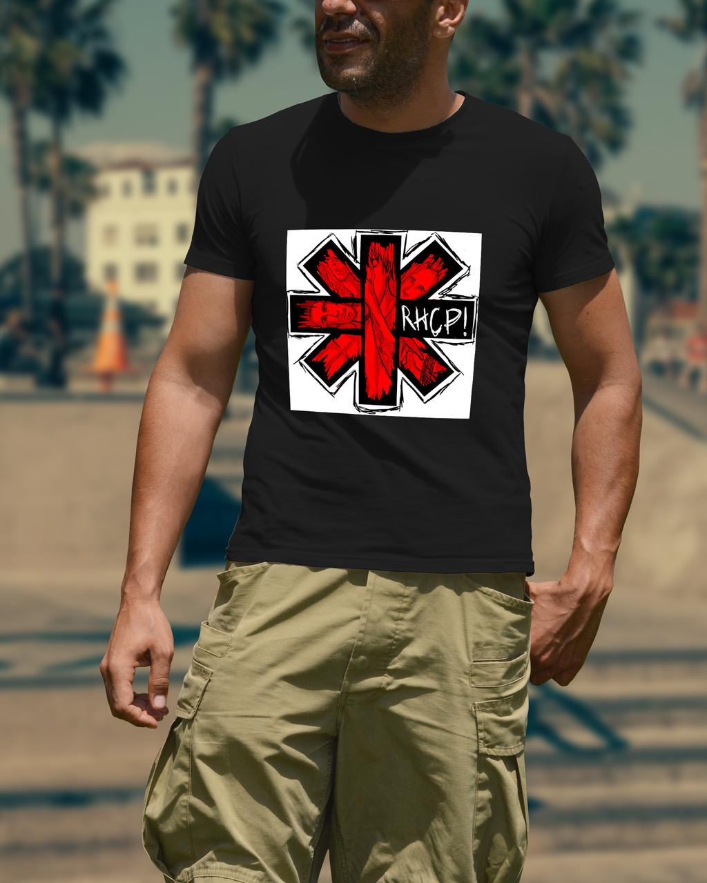 """Мужская футболка """"RHCP"""""""